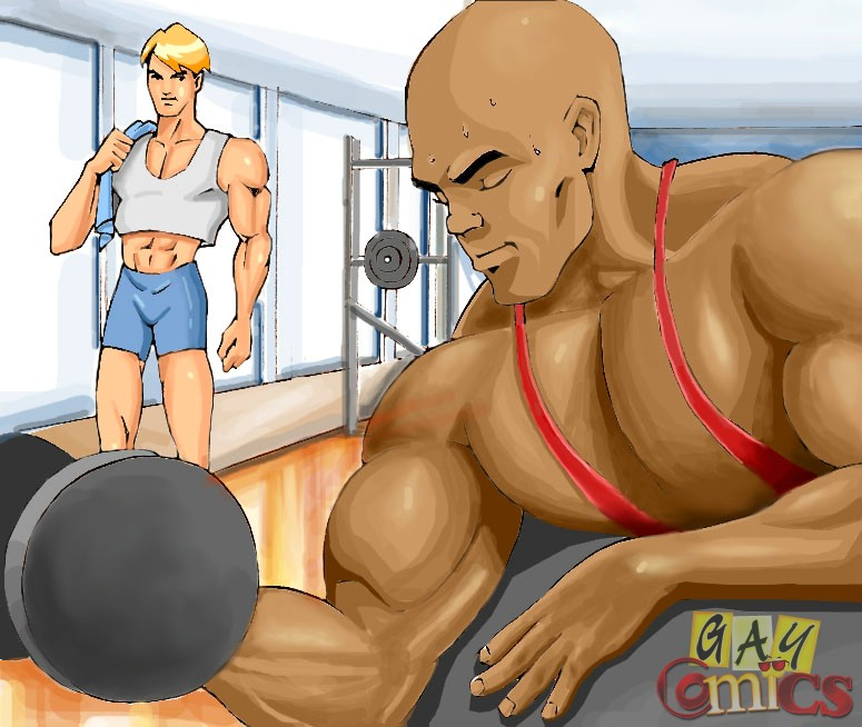 Gay Muscle Cartoons