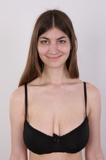 Lenka is a normal fashion model with abnormal rack from Czech Casting