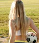 A little strip on the soccer pitch from Private School Jewel
