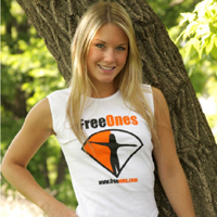 Teen model Jewel showing off her new gear from FreeOnes from Private School Jewel