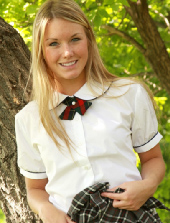 Private School Jewel out of uniform again from Private School Jewel
